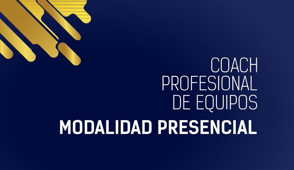 Coaching profesional de equipos – Presencial